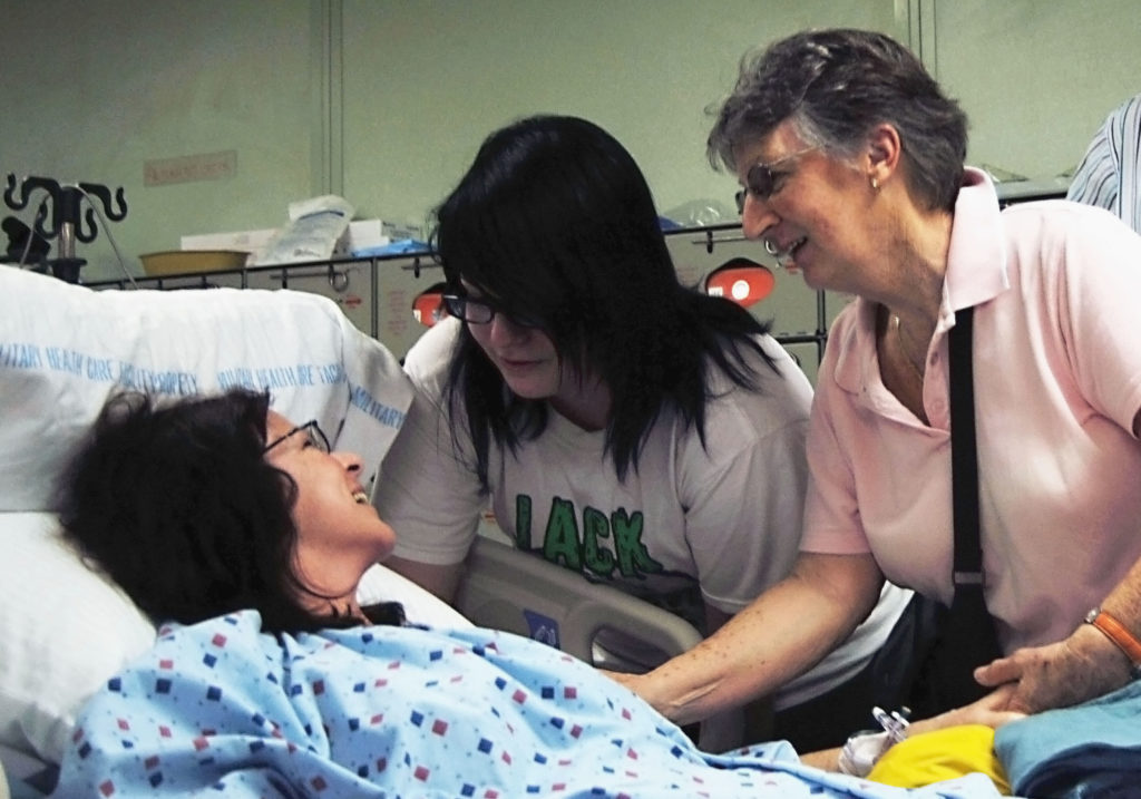 Family support is critical to patient recovery. The closer to home, the better you are.